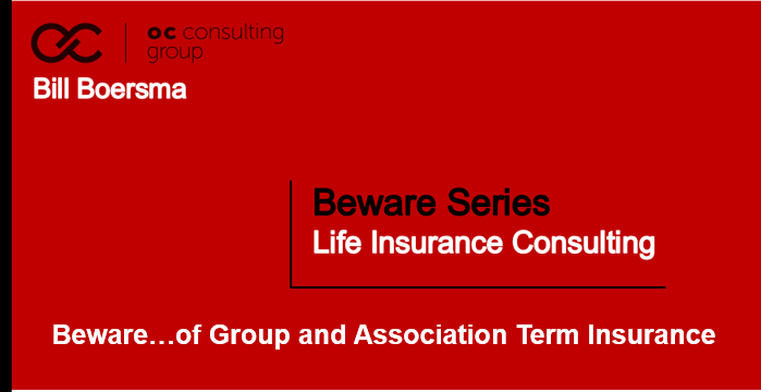 Group and Association term Insurance